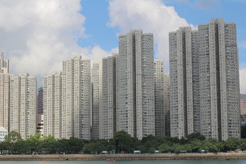 a residential building at Kwai tsing District