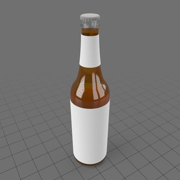 Small beer bottle