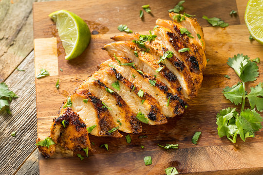 Homemade Grilled Chipotle Chicken Breast
