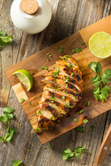 Wall Mural - Homemade Grilled Chipotle Chicken Breast