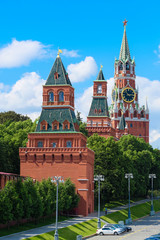 Moscow, Russia - June, 3, 2019: Moscow Kremlin