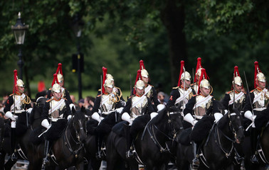 Trooping the Colour ceremonies in London