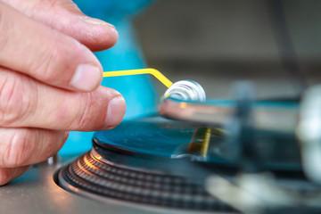 Hands of a DJ