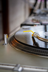 Audio equipment for playing analog vinyl