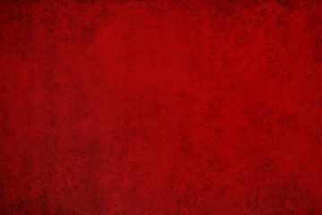 red wall background - old red stone texture Fototapete