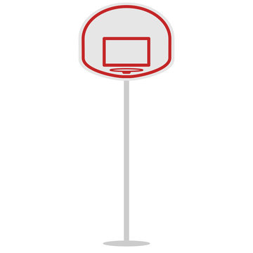 basket shield and ring for the basketball