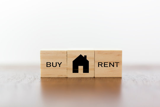 House with buy or rent option