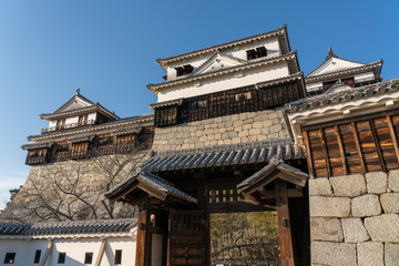 松山城の外観