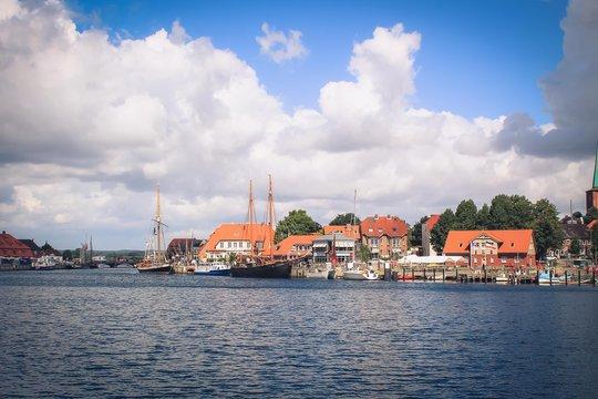 Stadtbild an der Ostsee
