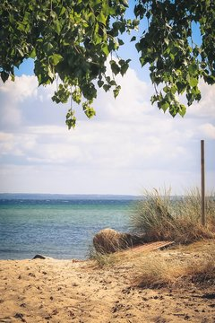 Düne und das Meer