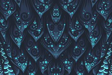 Abstract mystery vector background. Vector eps10 illustration.