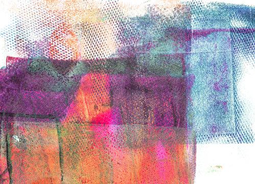 Handmade Abstract Acrylic Background