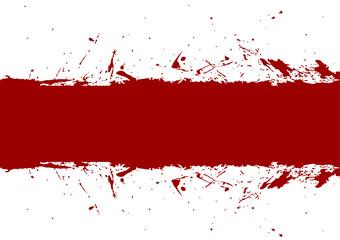 abstract vector splatter red color design background. illustration vector design