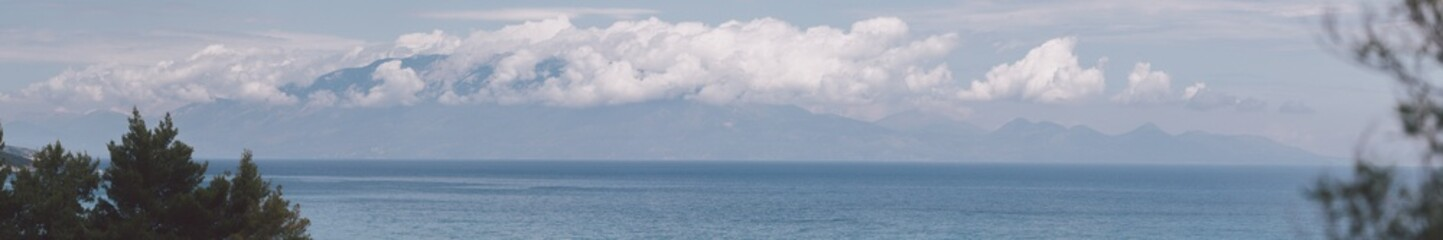 Panoramic of zakynthos