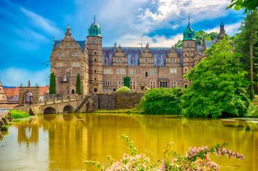 Wasserschloss Hämelschenburg im Emmerthal, Niedersachsen