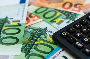 Finanzen Eurogeld Taschenrechner