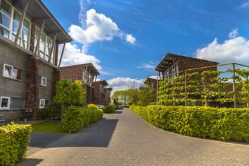 Modern street Groningen