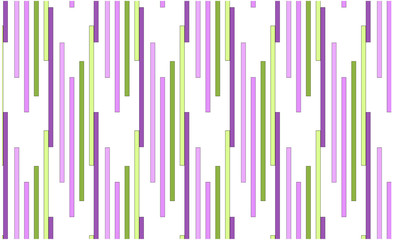 Abstract modern geometric background summer print green lilac lines. Minimalistic design, creative concept, Vector-stock illustration.