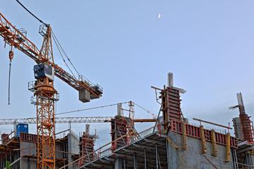 Fototapeta Budowa Wysokościowca obraz