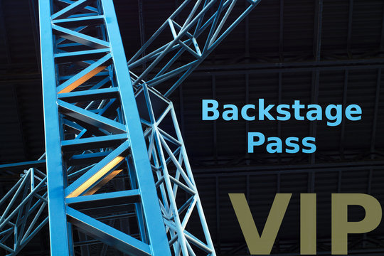 concert backstage pass vip ticket guest admission music festival