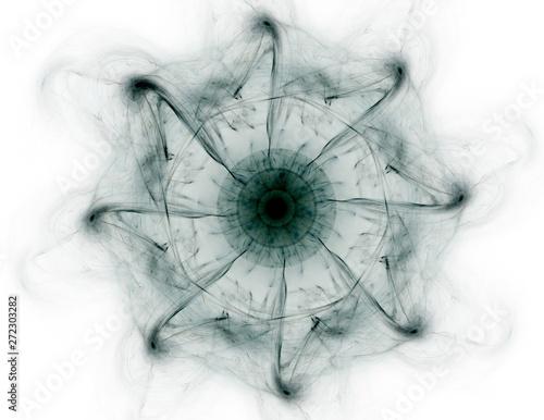 Computer generated fractal artwork for creative design, art