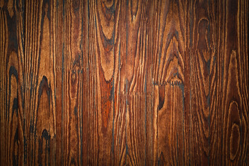 wall, table, dark brown, brown wood, planks, pine, background, wooden shelf, twinkle lights, wooden counter, wood texture, presentation, vintage