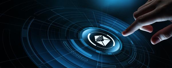 Message Communication Online Internet Technology Network Concept