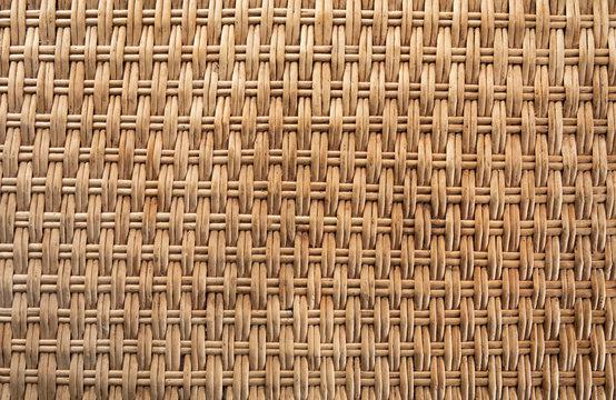 Wicker basket texture