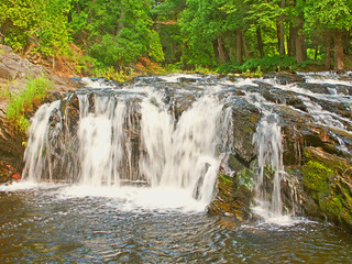 Wall Mural - Falls River Lanse Michigan