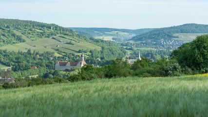 Landschaft bei Weikersheim im Taubertal