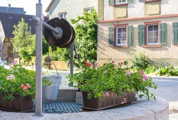 Dorfbrunnen bei Weikersheim