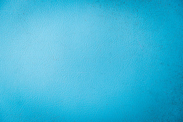 Texture of Light Blue Fake Leather surface Wall mural