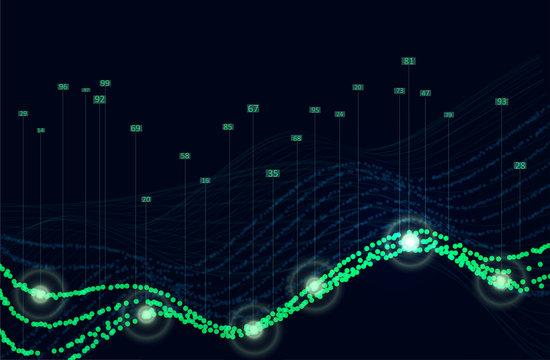 Big data algorithms visualization