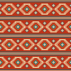 American Indian embroidery pattern