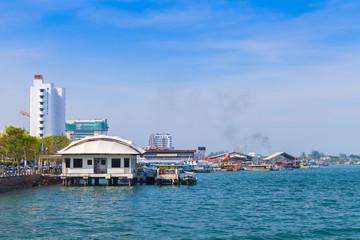 Coastal landscape of Kota Kinabalu