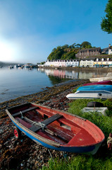 UK, Scotland, Inner Hebrides, Isle of Skye, Portree harbour