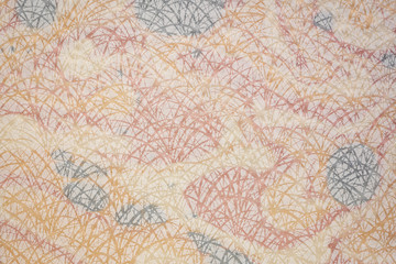 paper texture with grass pattern