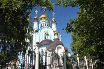 View of the Cathedral of the Intercession of Tatiana