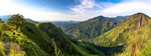 Mini Adams Peak is the closest and the easiest hike in Ella. Popular among tourists for the dashing, panoramic views you would ever witness in Sri Lanka.
