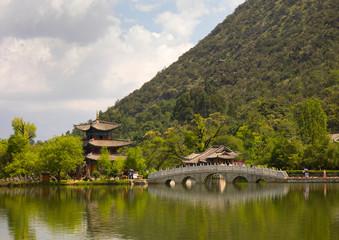 Black Dragon Pool Park, Lijiang, Yunnan Province, China