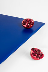 Minimal Still Life with Pomegranate 2