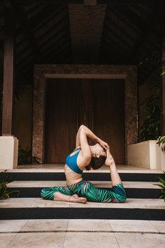 Yogini in Bali