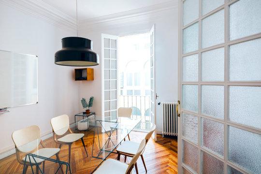 Trendy Modern Meeting Room