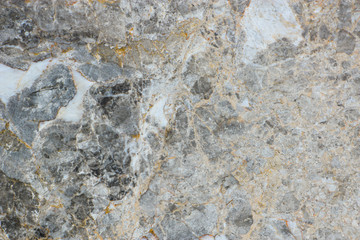 Texture of the cracked and scratched marble