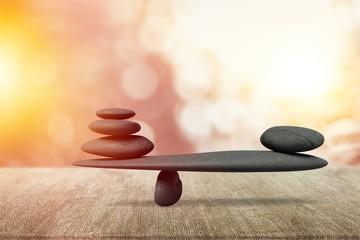 Balance. Fototapete