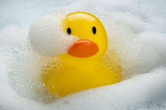 Rubber Duckie Bathtime