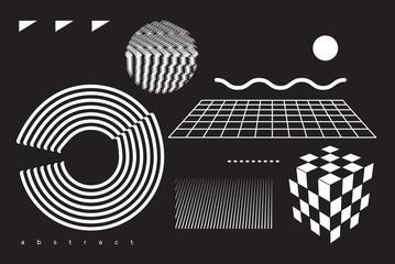 Modern Geometric Shapes Set
