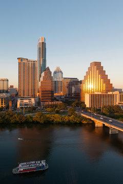 Austin city skyline, Texas, USA