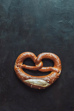 Heart shaped Pretzel