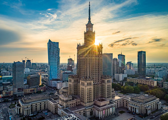 Obraz Warszawa - fototapety do salonu